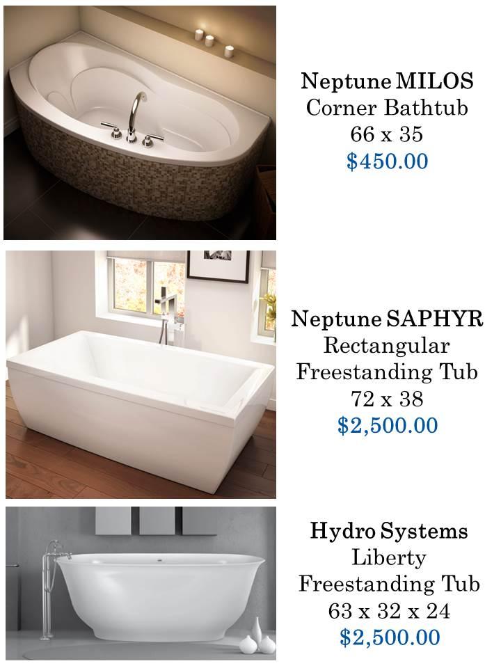 Bathtubs- forsale