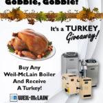 Gobble, Gobble! It's a Turkey Giveaway!